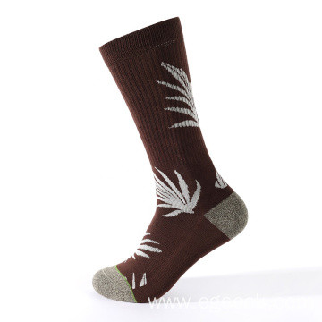 knitting needle jacquard pattern compression socks